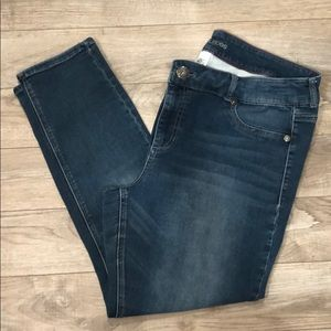 Women's stretchy jeans from Maurices.